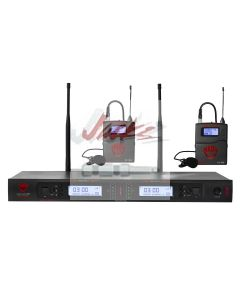 Nady 2W-1KU LT Dual True Diversity 1000-Channel Professional UHF Wireless System