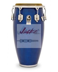 Toca Custom Deluxe Wood Conga - Blue