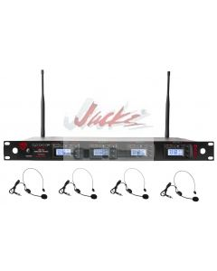Nady 4W-1KU HM-3 Quad True Diversity 1000-Channel Professional UHF Wireless System