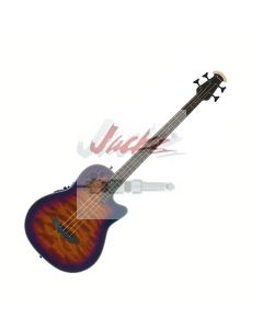The ExoticWoods Bass 4-String - Sapele Purple Burst CB778AXP-SPB or Sapele Tobacco Burst - CB778AXP-STB