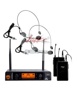 Nady DW-22 Dual Digital Wireless Headset Microphone System