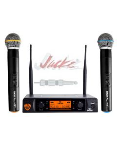 Nady DW-22 Dual Digital Wireless Handheld Microphone System