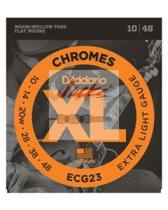 ECG23 Chromes Flat Wound,Extra Light, 10-48 - 3 sets - $14.13 each