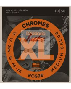 ECG26 Chromes Flat Wound, Medium, 13-56  - 3 sets - $14.13 each