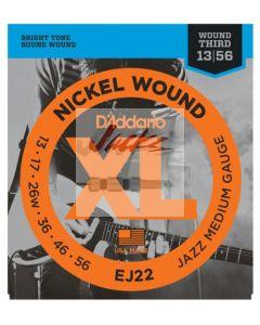 EJ22 Nickel Wound, Jazz Medium, 13-56 - 6 sets - $6.13 each