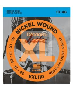 EXL110 Nickel Wound, Regular Light, 10-46 - 6 sets - $5.13 each