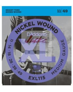 EXL115 Nickel Wound, Medium/Blues-Jazz Rock, 11-49 - 6 sets - $5.13 each
