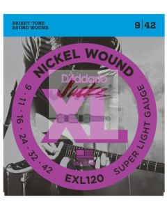 EXL120 Nickel Wound, Super Light, 9-42 - 6 sets - $5.13 each