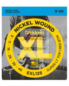 EXL125 Nickel Wound, Super Light Top/ Regular Bottom, 9-46 - 6 sets - $5.13 each