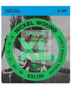 EXL130 Nickel Wound, Extra-Super Light, 8-38 - 6 sets - $5.13 each