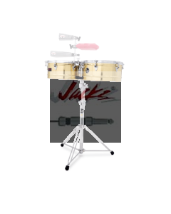 "LP® PRESTIGE 13"" AND 14"" TIMBALES - Brass LP1314-B, Bronze LP1314-BZ or Stainless Steel LP1314-S"