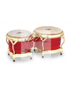MATADOR® SERIES WOOD BONGOS - Red/Gold