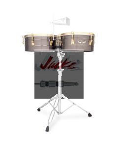 "LP® MATADOR® 14"" AND 15"" BRUSH NICKEL TIMBALES M257-BNG"