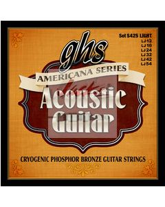 AMERICANA SERIES ACOUSTIC - 6 sets at $5.88 each - S425 or S435