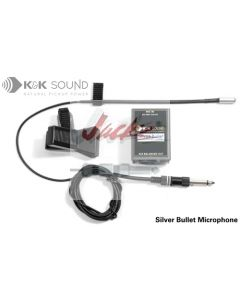 Silver Bullet Microphone - Solo, XLR or 1/4""