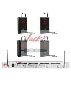 Nady U-41 Wireless UHF 4-Channel Instrument / Guitar System