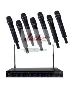 Nady U-81 Octavo HT – Eight wireless handheld microphones