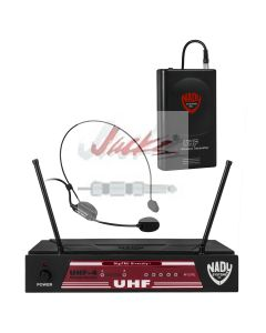 Nady UHF-4 Wireless Headset Microphone System with True Diversity