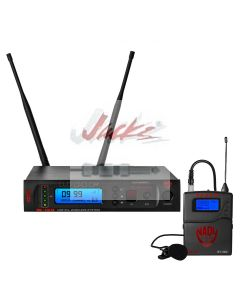 Nady W-1KU LT True Diversity 1000-Channel Professional UHF Lapel/lavalier Microphone Wireless System