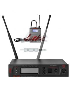 Nady W-1KU GT True Diversity 1000-Channel Professional UHF Guitar/Instrument Microphone Wireless System