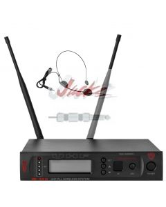 Nady W-1KU HM-3 True Diversity 1000-Channel Professional UHF Headset Microphone Wireless System